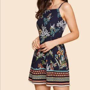 Dresses & Skirts - NWT Floral print cami dress
